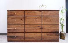 리빙윈도 - 디자인나무[Walnut drawer A]