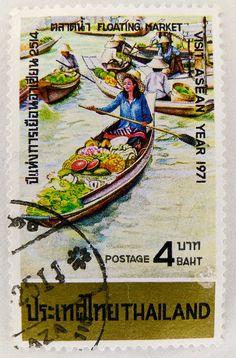 Un sello de Tailandia