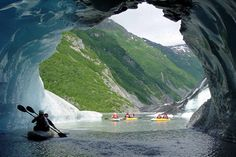 Sea kayaking in Alaska
