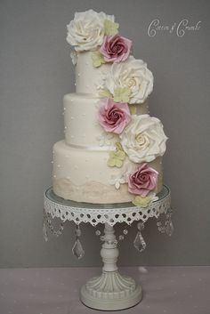 Wedding Cakes by the amazing Cotton & Crumbs
