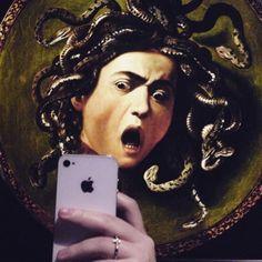 Resources for information on Art, Art History, & Museum Studies Caravaggio, Medusa Art, Art Jokes, Dark Tattoo, Photocollage, Wow Art, Creative Artwork, Famous Art, Classical Art