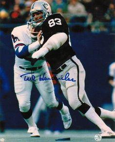 536d9782440 Autographed Ted Hendricks Oakland Raiders 8x10 Photo