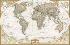 old-world-map.jpg (952×614)