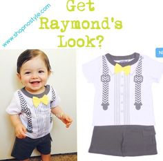 Get Raymond's look at www.shopnostyle.com