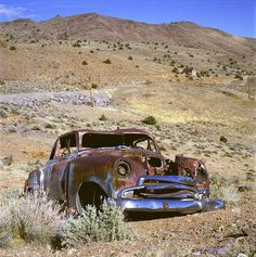 Old car in Nevada