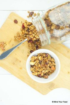 Granola met quinoa - glutenvrij - Mind Your Feed