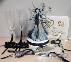 #corpse bride http://www.etsy.com/listing/82929904/butterflies-corpse-bride-wedding-cake?ref=sr_gallery_20&ga_search_submit=&ga_search_query=cake+topper&ga_view_type=gallery&ga_ship_to=US&ga_search_type=handmade&ga_facet=handmade