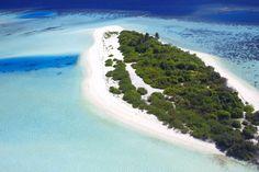Desert island, Maldive, Oceano indiano
