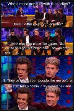 I didn't repin because of what they said.. I repinned because of Harry and Niall's smiles in the last picture :) They were genuinely amused by the topic and they were having fun and I love that.