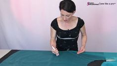 When rhinestoning, line all sheer fabrics with a scrap cloth so the glue dots do not seep through the sheer fabrics and ruin your work surface or another part of the dress.