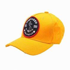 [G228]ディースクエアード/DSQUARED2/BC4002 V05C 70/メンズ/帽子/キャップ/イエロー