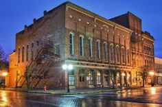 OH--Athens County--Nelsonville--Stuart's Opera House---a family member has worked here, it's a historic theatre