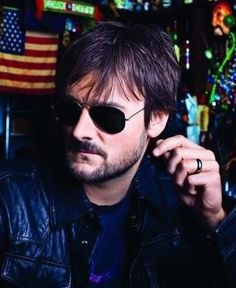 Eric Church! look at them cheif shades i just love him to much yeah its something about his truck... XD