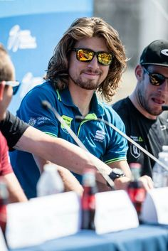 Peter Sagan #AmgenTOC Great Hair, World Championship, Oakley Sunglasses, Long Hair Styles, Blessings, Cycling, California, Bike, Funny