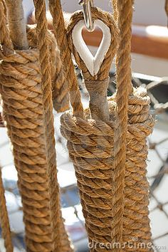 Rope it… boat rigging