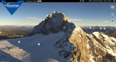 Live picture of Ramsau am Dachstein - WM Stadion - Panomax - high resolution interactive panorama web cam Live Picture, Cross Country Skiing, Mount Everest, Trail, How To Become, Seasons, Mountains, Pictures, Chalets