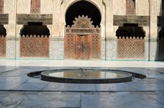 Medersa bou inania, Médina de Fès. Mother Nature, Respect, Journaling, Mansions, House Styles, Outdoor Decor, Home Decor, Morocco, Decoration Home