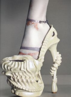 Alexander McQueen - Dragon Heels from the Plato's Atlantis Colleciton