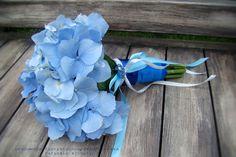 białe i niebieskie hortensje bukiet - Szukaj w Google