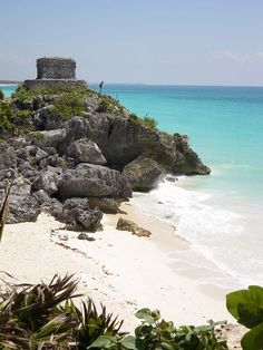 Mayan Ruins of Tulum, one of my favorite places I've ever been tio