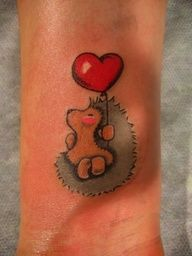 hedgehog tattoo <3