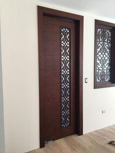 70 Super ideas for safety door design entrance Modern Entrance Door, Main Entrance Door Design, Modern Exterior Doors, Door Gate Design, Entrance Ideas, Bedroom Door Design, Door Design Interior, Interior Exterior, Interior Modern