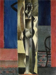 Nude in Front of a Mirror (1912) by Jean Metzinger