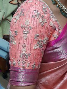 Cutwork Blouse Designs, Kids Blouse Designs, Pattu Saree Blouse Designs, Hand Work Blouse Design, Simple Blouse Designs, Stylish Blouse Design, Bridal Blouse Designs, Traditional Blouse Designs, Pantalon Large