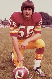 Greatest Redskins  #55 Chris Hanburger  Linebacker  1965-78