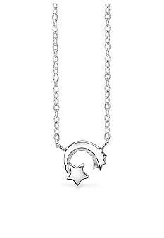 Belk Silverworks Stars and Moon Pendant Necklace