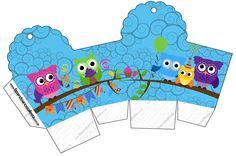 LARGE SET-- http://fazendoanossafesta.com.br/2014/03/corujinhas-lilas-e-azul-kit-completo-digital-com-molduras-para-convites-rotulos-para-guloseimas-lembrancinhas-e-imagens.html/