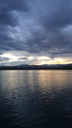 Sunset at Horsetooth