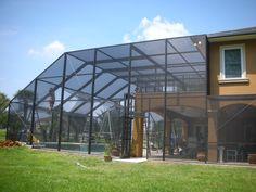 Lightning Aluminum Inc Garages Enclosures Outbuildings Tampa Fl Pool Enclosures Outdoor Fun Outdoor Areas