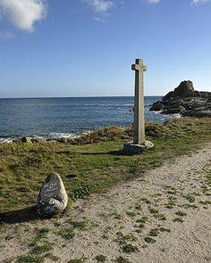 La croix des amoureux à Lesconil | Finistère | Bretagne | #balade