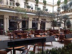 Park Hyatt Paris Vendome on HOTEL POINTS--often considered the top redemption for Hyatt points.  Oui, oui!