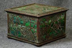 Zentrum Studios  Tiffany Style Jewelry Box by ZentrumStudios, $650.00