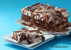 Pint Sized Baker: Chocolate Wafer Cookie Icebox Cake