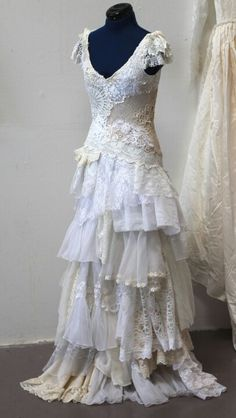 Lace and frills