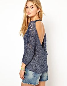Pepe Jeans Backless Jumper
