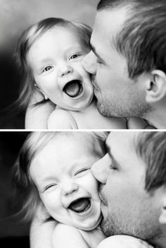 so adorable. there are few things more precious than a child's laugh