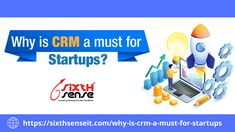 Why startups need to employ CRM Software for smooth working & how CRM System Software helps them to grow. Let's find out the answers of all the above questions in our recent blog post.  #sixthsenseitsoltions #techngrow #CRM #crmsense #crmsoftware #startups #businessgrowth #startupjourney #workflow #clientsmanagementsoftware #customerrelationshipmanagement #blog #techblog #SMEs #smallbusinesssupport #IoT #technews #wednesdayreads #wednesdaypost #newblog #techblog Business Continuity Planning, Crm System, Customer Relationship Management, Cloud Computing, Customer Experience, Sales And Marketing, Growing Your Business, Startups, Time Management
