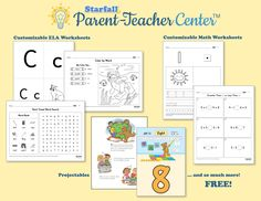 have you checked out the new starfall parent teacher center it is completely free