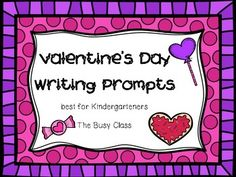 These fun prompts are perfect for the weeks leading up to Valentine's Day. Use as morning work, a writing center, or for early finishers.Allow students to color and hang up for a lovely bulletin board, or send home inside Valentine's Day cards to family members.These prompts are best suited for younger students.