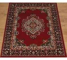 Buy HOME Bukhura Traditional Rug - 160x120cm - Red at Argos.co.uk, visit Argos.co.uk to shop online for Rugs and mats, Home furnishings, Home and garden