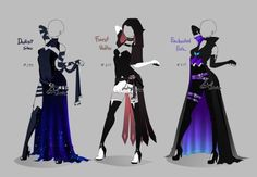Outfit design - 219 - 220 - closed by LotusLumino on DeviantArt