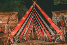Festival Camping, Art Festival, Stage Design, Event Design, Bamboo Art, Exhibition Stand Design, Interactive Art, Conquistador, Installation Art