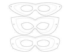 Superhero Mask Template | Drawn Mask Superwoman Pencil And In Color Drawn Mask Superwoman