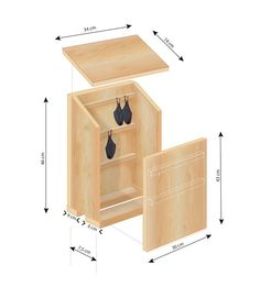 Bird House Plans 426153183485966692 - I. Frances/Rustica Source by jfwillem Bat Box Plans, Bat House Plans, Bird House Feeder, Bird Feeders, Wood Projects, Woodworking Projects, Garden Projects, Nesting Boxes, Diy Home Crafts