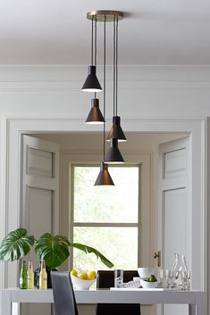 Dining Room Lighting Ideas The Towner Collection By Sea Gull Brings Mid Century Retro Style To