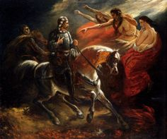 Macbeth Et Les Sorcieres - Life and Paintings of Ary Scheffer (1795 – 1858)